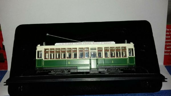 Atlas HQ10 1:87 scale Tram 1907 Motrice Type 500 CGPT